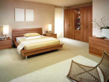 Toscana fitted bedroom in Uno Walnut