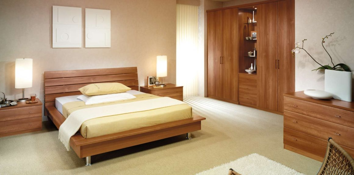 Toscana Bedroom in Uno Walnut