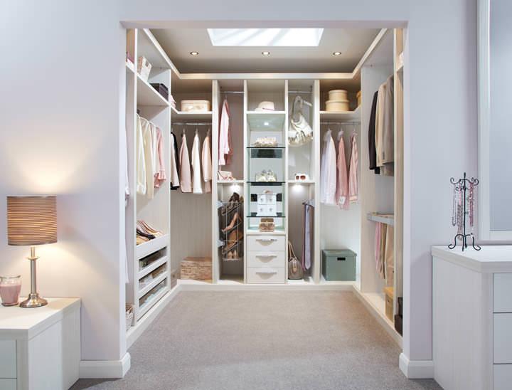 Ultimo Pearl walk in wardrobe