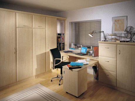 Alto study bedroom in Maple