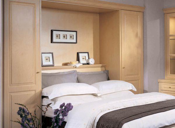 Bespoke double wall bed