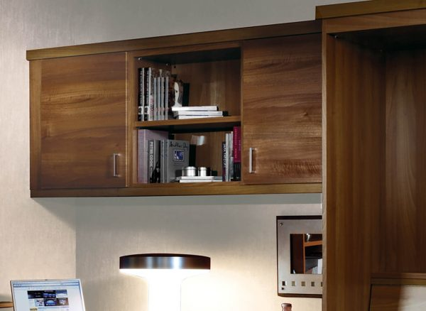 Suspended overhead cabinets